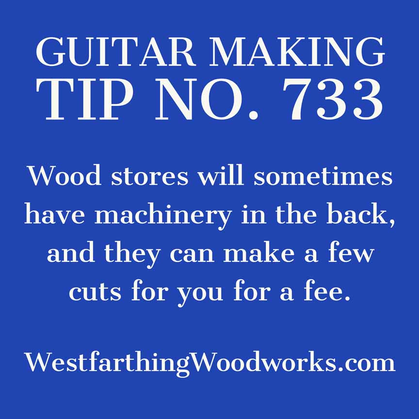 guitar making tip number 733