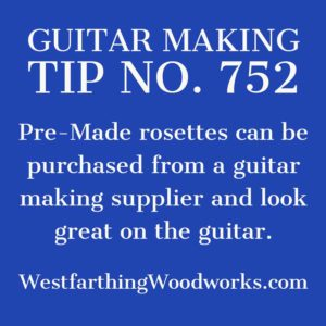 guitar making tip number 752