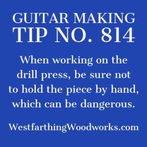 guitar making tip number 814