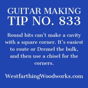 guitar making tip number 833