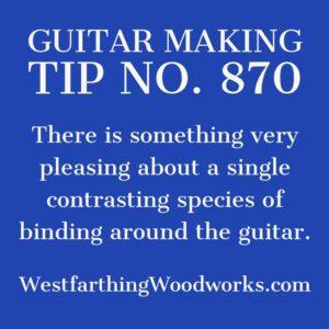 guitar making tip number 870