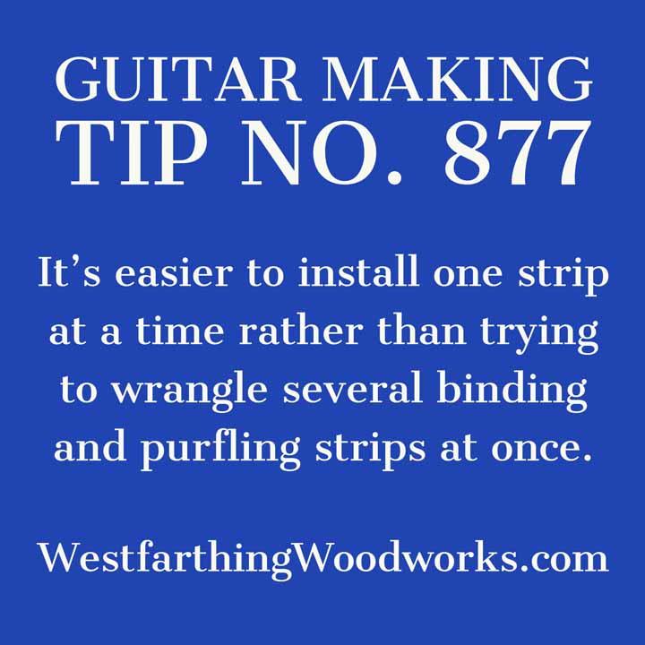guitar making tip number 877