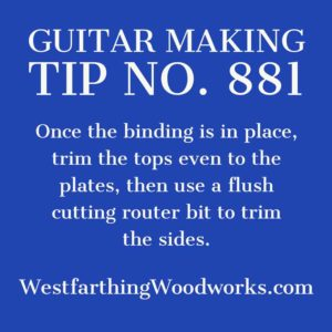 guitar making tip number 881