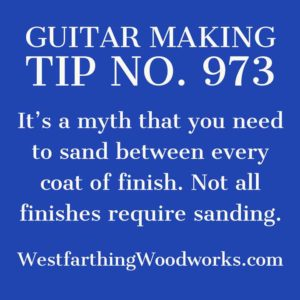 guitar making tip number 973