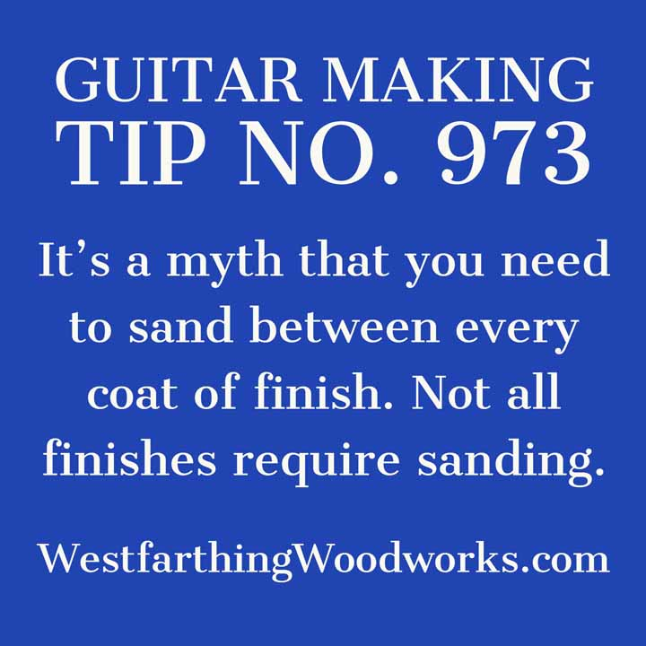 guitar making tip number 973