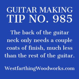 guitar making tip number 985