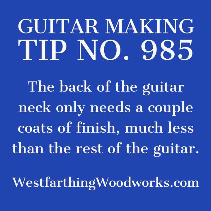 guitar making tip number 985