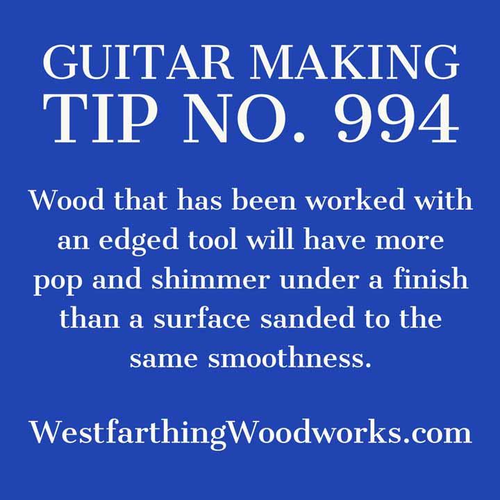guitar making tip number 994