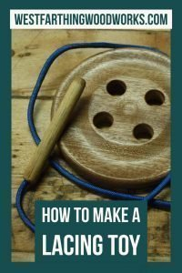 how to make a handmade lacing toy how to make toys at home