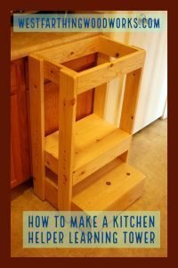 how to make a kitchen helper learning tower