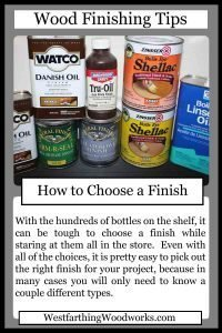 wood finishing tips cards how to choose a finish