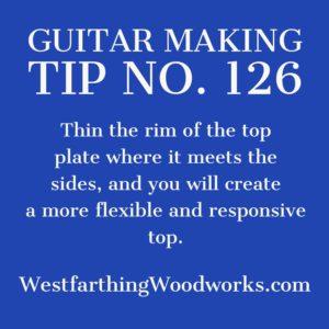 guitar making tip number 126