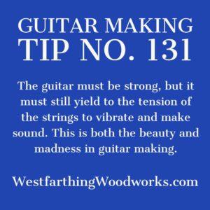 guitar making tip number 131