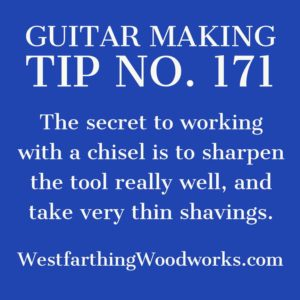 guitar making tip number 171