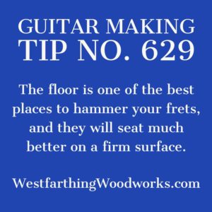 guitar making tip number 629