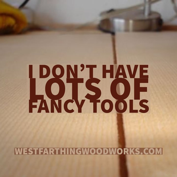 i dont have lots of fancy tools