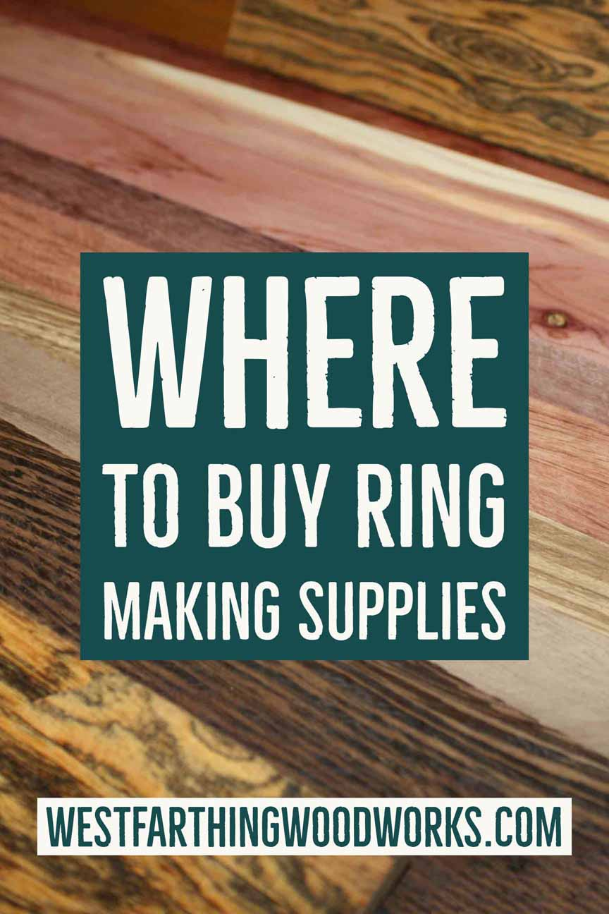 where to buy ring making supplies wooden ring making