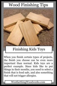 wood finishing tip cards finishing kids toys