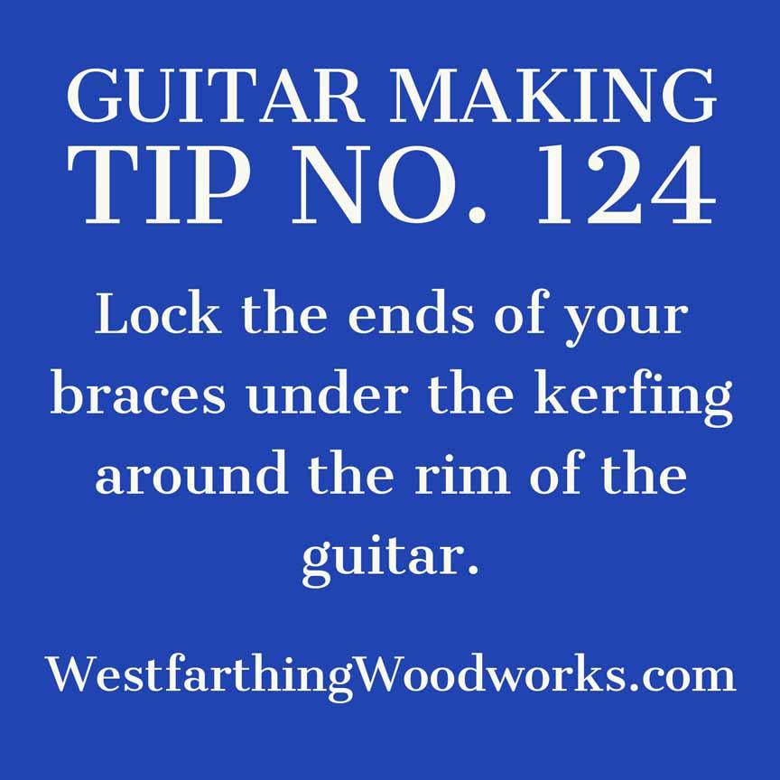 guitar making tip number 124