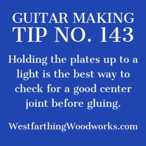 guitar making tip number 143