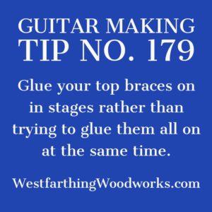 guitar making tip number 179