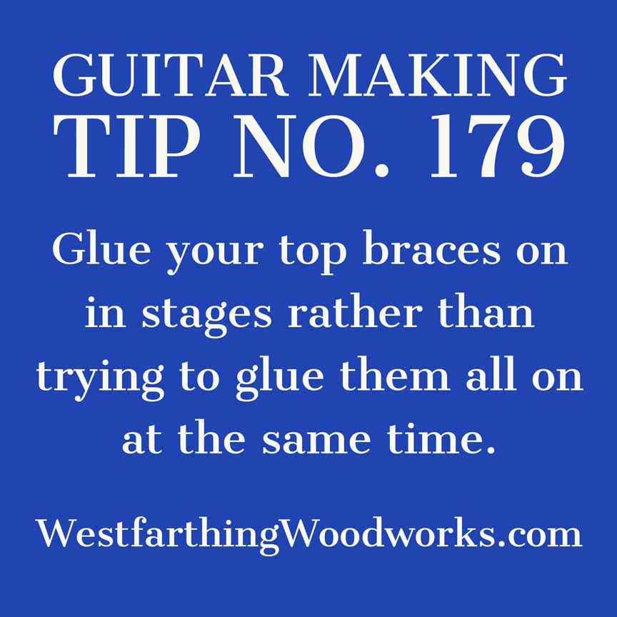 guitar making tip number 179