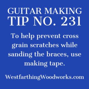 guitar making tip number 231
