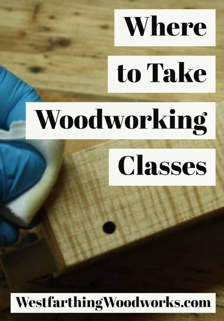 where to take woodworking classes