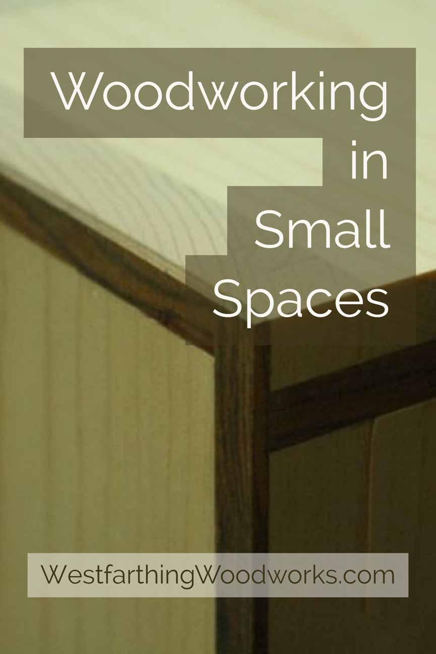 woodworking in small spaces