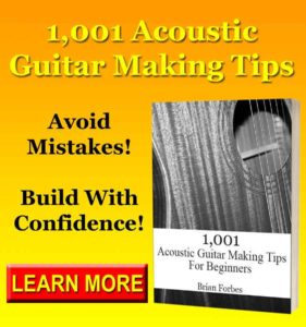1001 acoustic guitar making tips book tips for making an acoustic guitar
