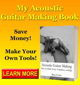 acoustic guitar making how to make tools templates and jigs book beginner book for new guitar makers
