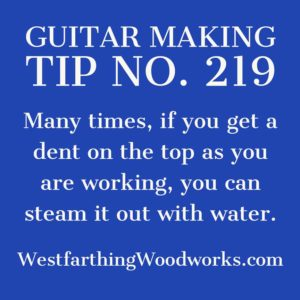 guitar making tip number 219