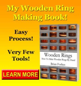wooden rings how to make wooden rings by hand ring making instructions for beginners