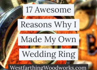 17 awesome reasons why I made my own wedding ring