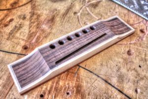 25 Simple Ways to Customize Your Guitar Without Changing the Tone binding the bridge