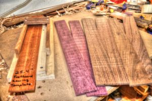 25 Simple Ways to Customize Your Guitar Without Changing the Tone exotic hardwood fretboard