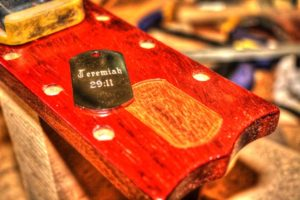 25 Simple Ways to Customize Your Guitar Without Changing the Tone headstock inlays