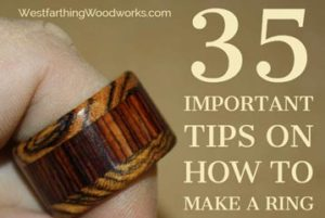 35 important tips on how to make a ring
