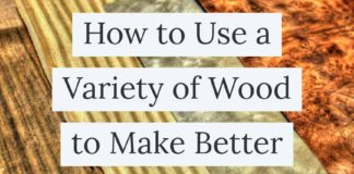 Howto use a variety of wood to make better rings