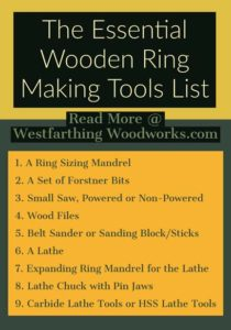 The-Essential-Wooden-Ring-Making-Tool-List-[Infographic]