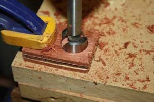 15-Huge-Tips-on-How-to-Make-a-DIY-Wood-Ring-drilling-the-blank