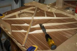 How-to-Make-an-Acoustic-Guitar-Series---Part-Five---Carving-the-Top-Braces-carving-the-x-brace