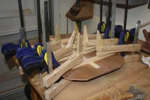 How-to-Make-an-Acoustic-Guitar-Series---Part-Six---Bracing-the-Back-even-more-clamping
