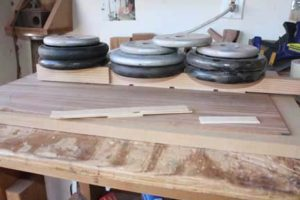 How-to-Make-an-Acoustic-Guitar-Series---Part-Six---Bracing-the-Back-gluing-down-the-center-seam