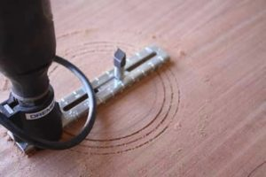 How-to-Make-an-Acoustic-Guitar-Series---Part-Three---Making-the-Rosette-dremel-three-ring-rosette