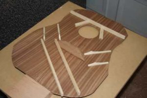 How-to-Make-an-Acoustic-Guitar-Series---Part-four---Making-the-Rosette-bracing-the-top