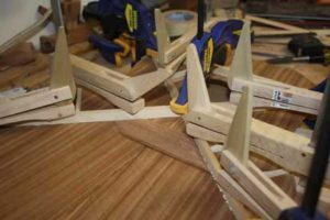How-to-Make-an-Acoustic-Guitar-Series---Part-four---Making-the-Rosette-cam-clamps-for-the-braces