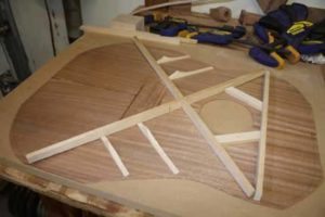 How-to-Make-an-Acoustic-Guitar-Series---Part-four---Making-the-Rosette-guitar-top-bracing