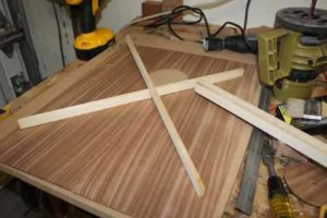 How-to-Make-an-Acoustic-Guitar-Series---Part-four---Making-the-Rosette-x-brace