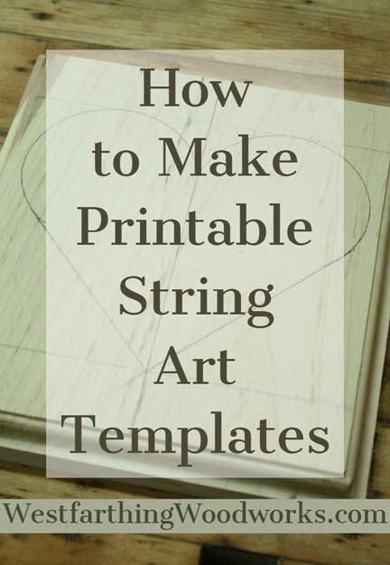 graphic about How to Create a Printable identified as How toward Create Printable String Artwork Templates